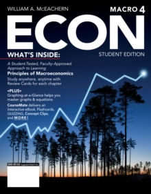 ECON: MACRO4 (with CourseMate, 1 term (6 months) Printed Access Card), Mixed media product Book