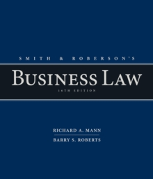 Smith and Roberson's Business Law, Hardback Book