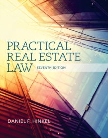 Practical Real Estate Law, Hardback Book