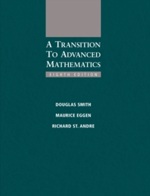 A Transition to Advanced Mathematics, Hardback Book