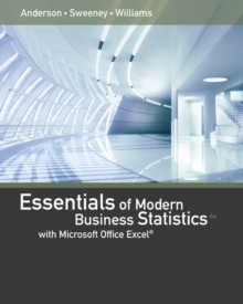 Essentials of Modern Business Statistics with Microsoft (R) Excel (R), Hardback Book