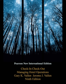 Check-in Check-Out: Pearson New International Edition : Managing Hotel Operations, Paperback Book