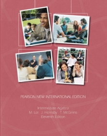 Intermediate Algebra: Pearson New International Edition, Paperback / softback Book