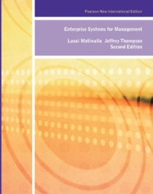 Enterprise Systems for Management: Pearson New International Edition, Paperback Book