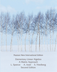 Elementary Linear Algebra: Pearson New International Edition, Paperback Book