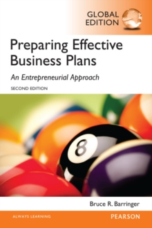 Barringer: Preparing Effective Business Plans: An Entrepreneurial Approach, Global Edition, Paperback Book