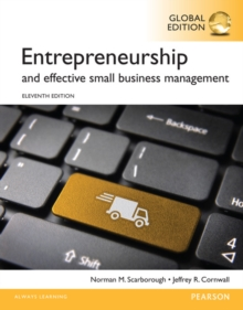 Entrepreneurship and Effective Small Business Management, Global Edition, Paperback / softback Book