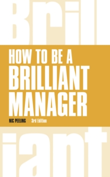 How to be a Brilliant Manager, Paperback / softback Book