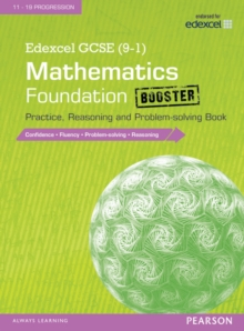 Edexcel GCSE (9-1) Mathematics: Foundation Booster Practice, Reasoning and Problem-Solving Book, Paperback Book