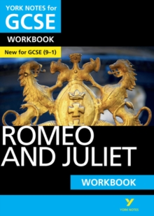Romeo and Juliet: York Notes for GCSE (9-1) Workbook, Paperback Book