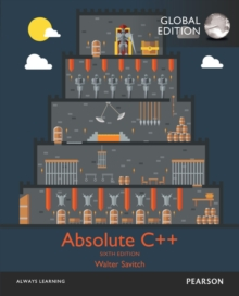 Absolute C++ with MyProgrammingLab, Global Edition, Mixed media product Book