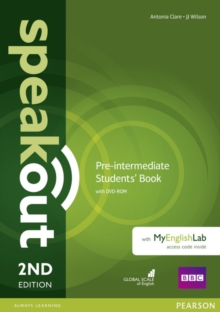 Speakout Pre-Intermediate 2nd Edition Students' Book with DVD-ROM and MyEnglishLab Access Code Pack, Mixed media product Book