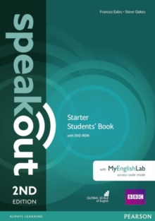 Speakout Starter 2nd Edition Students' Book with DVD-ROM and MyEnglishLab Access Code Pack, Mixed media product Book