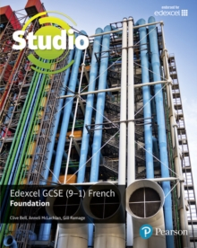 Studio Edexcel GCSE French Foundation Student Book, Paperback Book