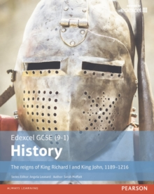 Edexcel GCSE (9-1) History The reigns of King Richard I and King John, 1189-1216 Student Book, Paperback / softback Book