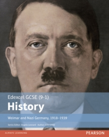 Edexcel GCSE (9-1) History Weimar and Nazi Germany, 1918-1939, Paperback Book