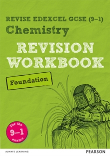Revise Edexcel GCSE (9-1) Chemistry Foundation Revision Workbook : for the 9-1 exams, Paperback / softback Book