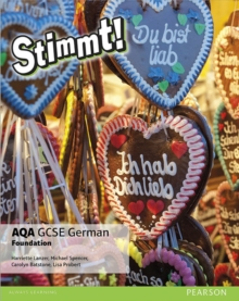 Stimmt! AQA GCSE German Foundation Student Book : Stimmt! AQA GCSE German Foundation Student Book Foundation, Paperback Book