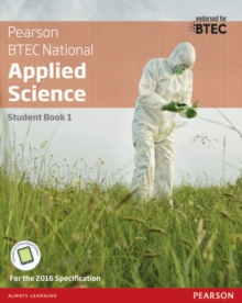 BTEC Level 3 Nationals Applied Science Student Book 1, Mixed media product Book