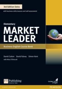 Market Leader 3rd Edition Extra Elementary Coursebook with DVD-ROM Pack, Mixed media product Book