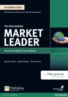 Market Leader 3rd Edition Extra Pre-Intermediate Coursebook with DVD-ROM and MyEnglishLab Pack, Mixed media product Book