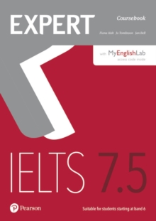 Expert IELTS 7.5 Coursebook with Online Audio and MyEnglishLab Pin Pack, Mixed media product Book