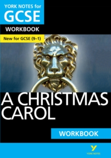 A Christmas Carol: York Notes for GCSE (9-1) Workbook, Paperback Book