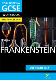 Frankenstein: York Notes for GCSE (9-1) Workbook, Paperback Book
