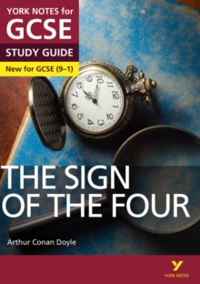 The Sign of the Four: York Notes for GCSE (9-1), Paperback / softback Book