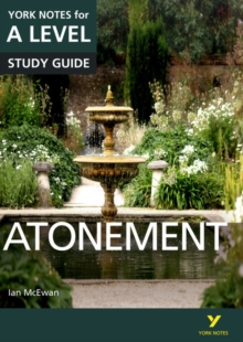 Atonement: York Notes for A-Level, Paperback Book