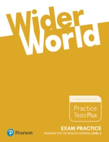 Wider World Exam Practice: Pearson Tests of English General Level 2(B1), Paperback / softback Book
