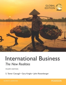 International Business: The New Realities, Global Edition, Paperback / softback Book