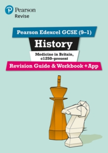 Revise Edexcel GCSE (9-1) History Medicine in Britain Revision Guide and Workbook : (with free online edition), Mixed media product Book