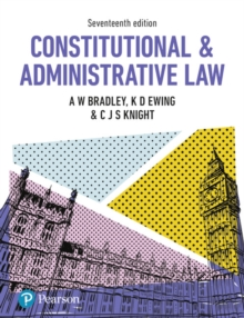 Constitutional and Administrative Law, Paperback Book