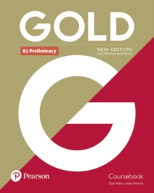 Gold B1 Preliminary New Edition Coursebook, Paperback / softback Book