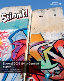 Stimmt! Edexcel GCSE German Higher Student Book, PDF eBook