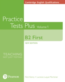 Cambridge English Qualifications: B2 First Volume 1 Practice Tests Plus (no key), Paperback Book
