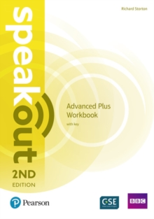 Speakout Advanced Plus 2nd Edition Workbook with Key, Paperback / softback Book