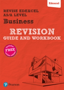 Revise Edexcel AS/A level Business Revision Guide & Workbook : includes online edition, Mixed media product Book