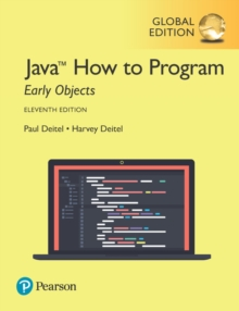 Java How to Program, Early Objects plus Pearson MyLab Programming with Pearson eText, Global Edition, Mixed media product Book