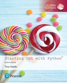Starting Out with Python, Global Edition, Mixed media product Book