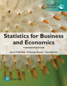 Statistics for Business and Economics, Global Edition, Paperback / softback Book