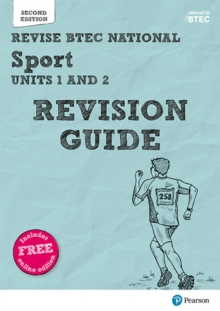 Revise BTEC National Sport Units 1 and 2 Revision Guide : Second edition, Mixed media product Book