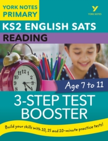 English SATs 3-Step Test Booster Reading: York Notes for KS2, Paperback Book
