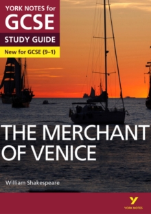 The Merchant of Venice: York Notes for GCSE (9-1), Paperback / softback Book