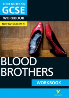 Blood Brothers: York Notes for GCSE (9-1) Workbook, Paperback / softback Book