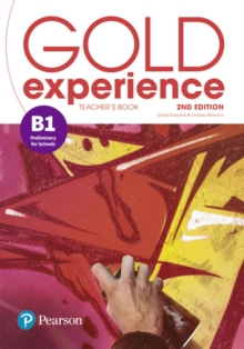 Gold Experience 2nd Edition B1 Teacher's Book with Online Practice & Online Resources Pack, Mixed media product Book