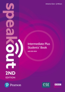 Speakout Intermediate Plus 2nd Edition Student's Book with DVD-ROM and MyEnglishLab Pack, Mixed media product Book