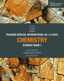 Pearson Edexcel International AS Level Chemistry Student Book, Mixed media product Book