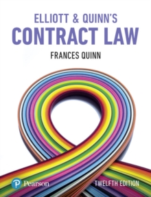 Elliott & Quinn's Contract Law, Paperback / softback Book